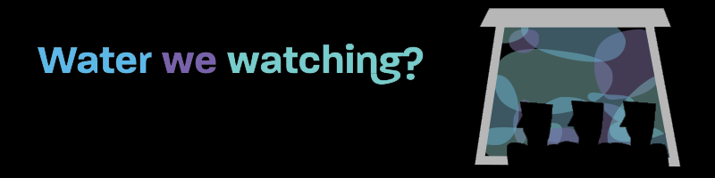 Water We Watching?