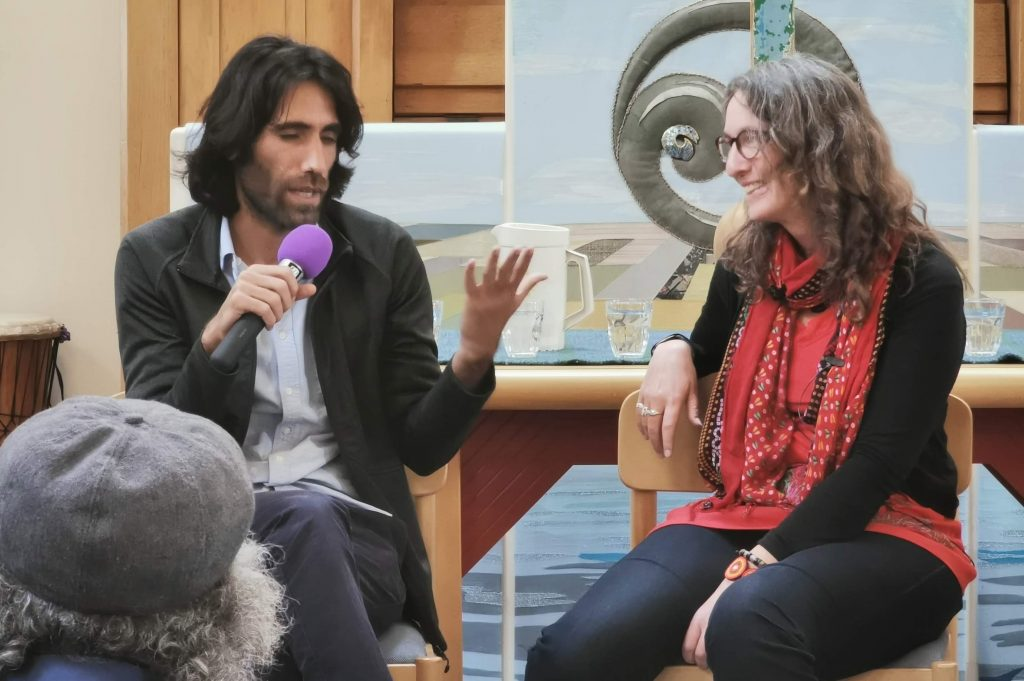 Behrouz Boochani and Professor Alison Phipps in Conversation